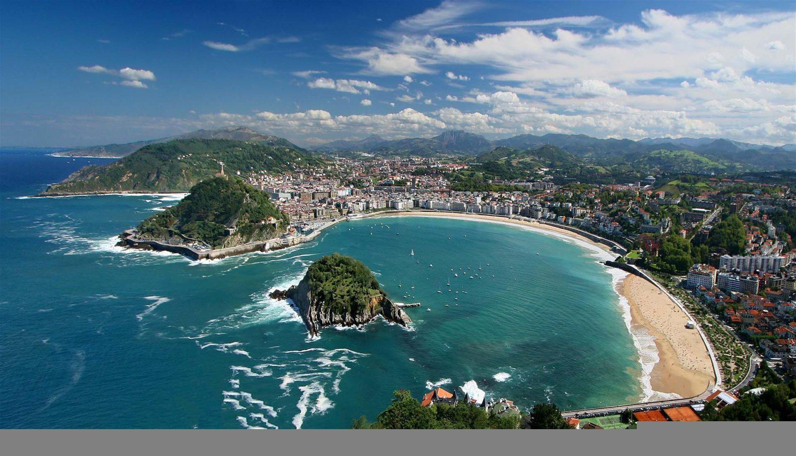 пляжЛа-Конча в Испании
