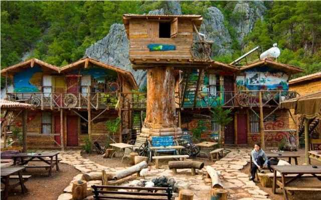 Дом дерева Кадира (Kadir's Tree House), Олимпос, Турция