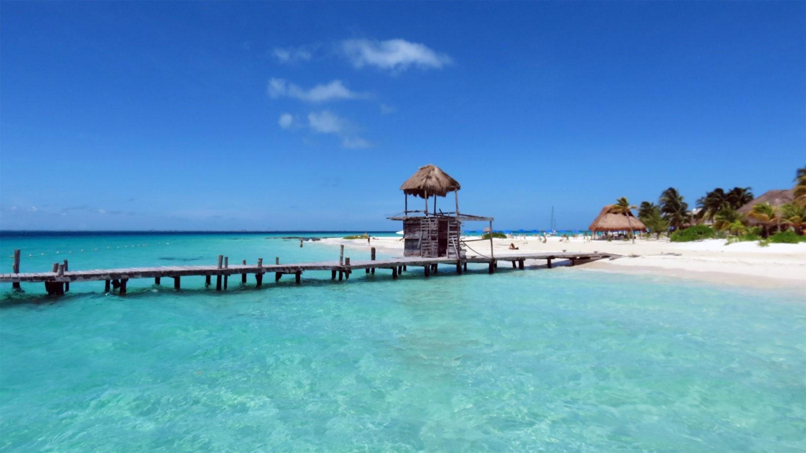 пляж Плайя Норте, Мексика