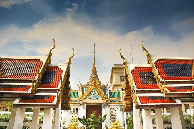 Храм Изумрудного Будды Ват Пхра Кео в Бангкоке