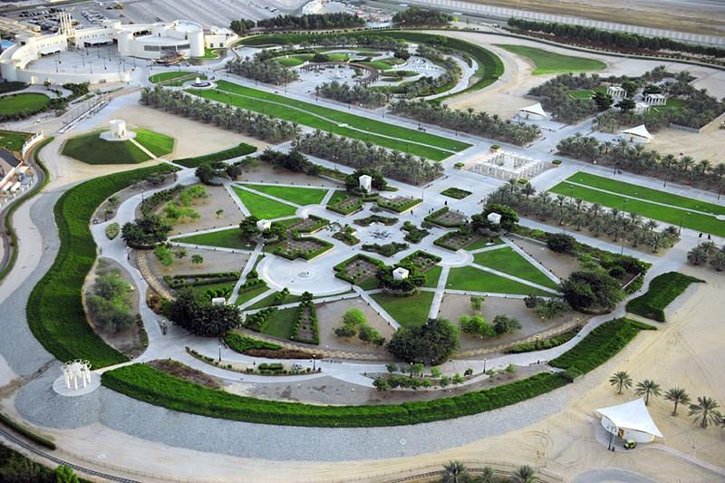 Парк Шейха Халифа в Абу-Даби
