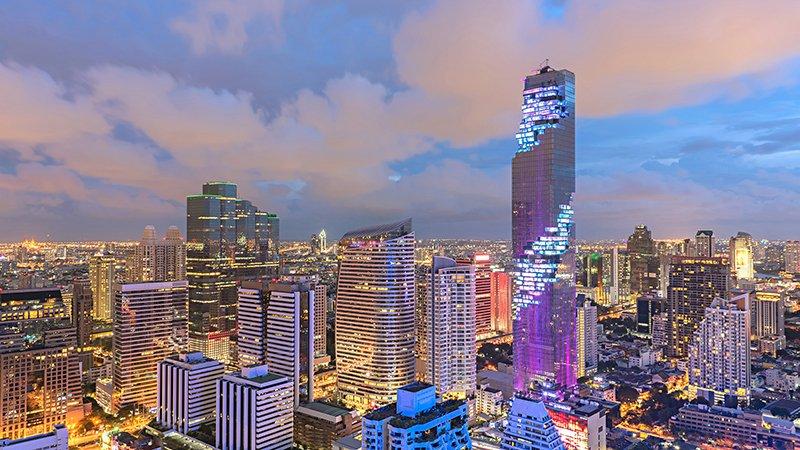 небоскреб Метрополис МахаНакхон в Бангкоке