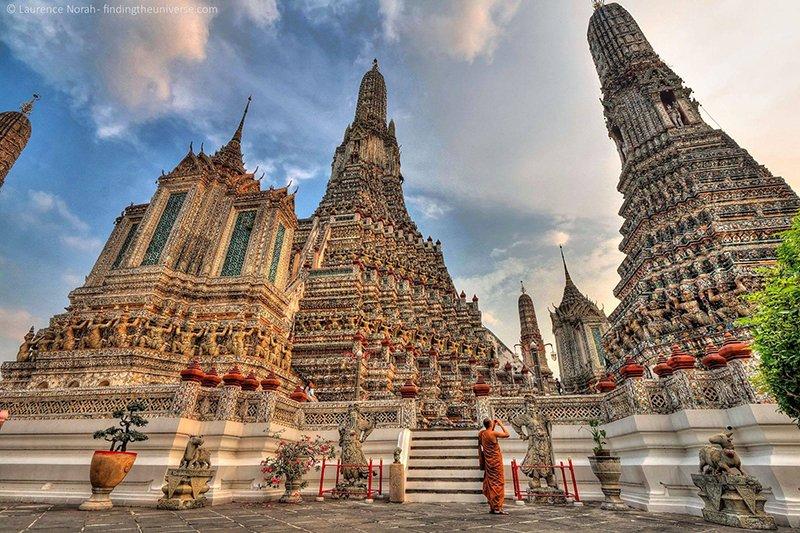 храм Ват Арун в Бангкоке