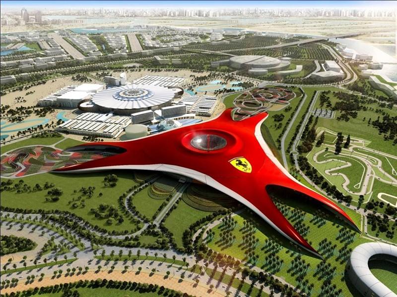 Мир Феррари в Абу-Даби