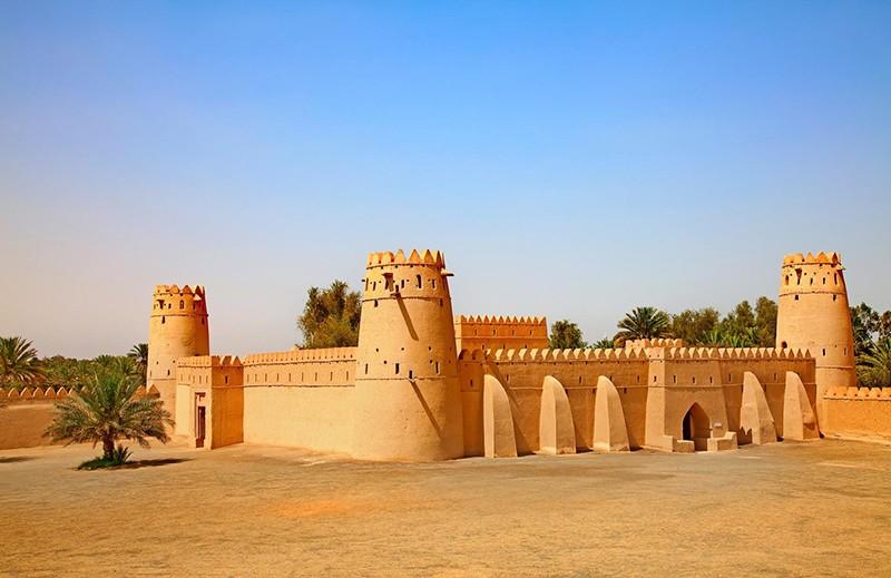 оазис Аль-Айн в Абу-Даби