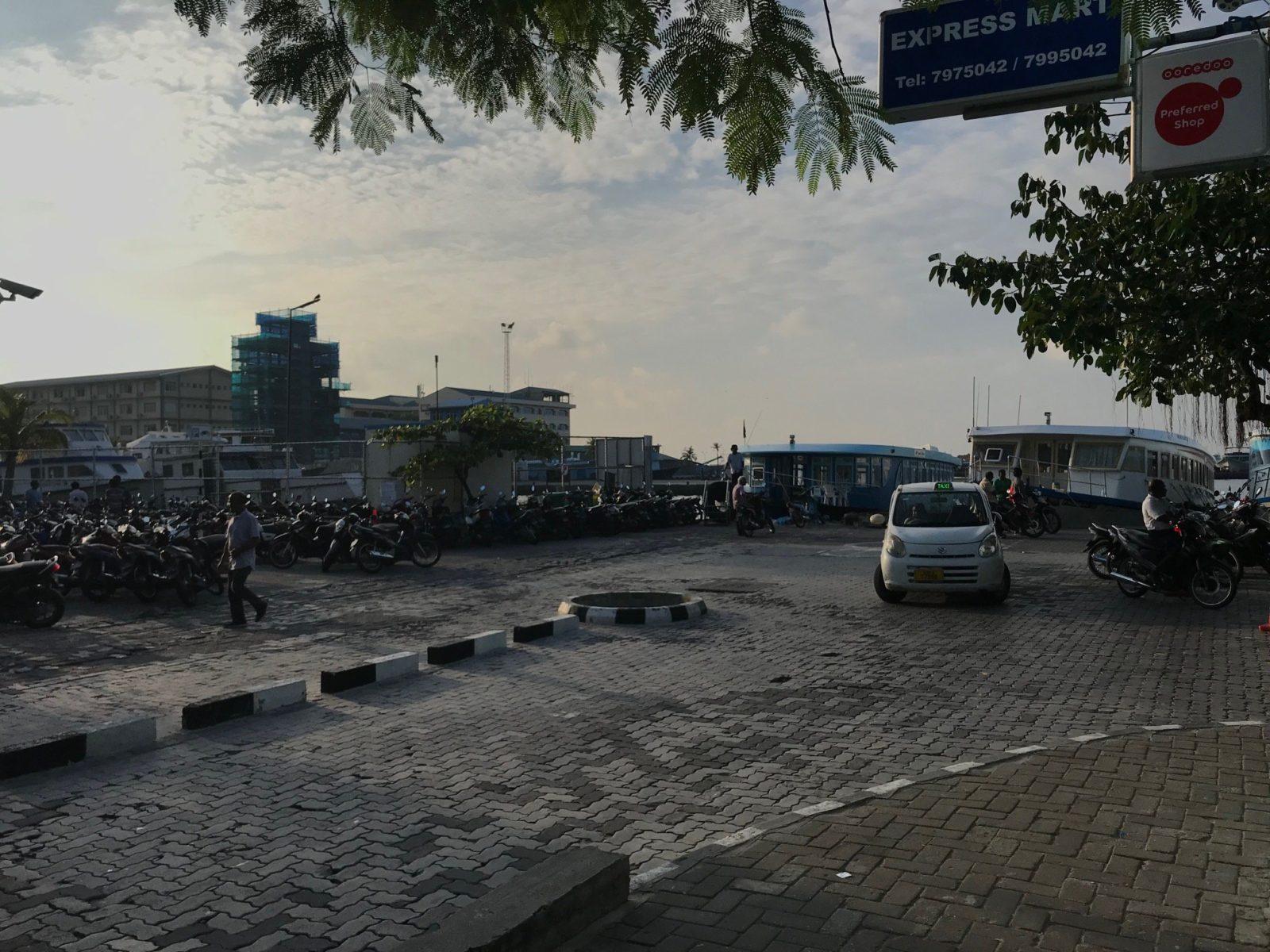 паромный терминал в Мале, Мальдивы