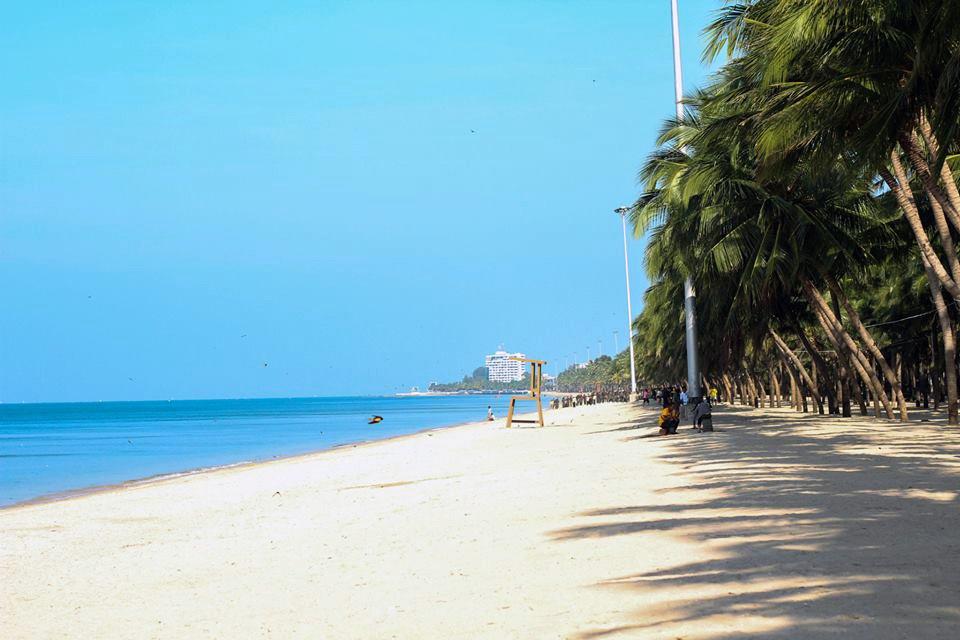 пляж Банг Саен в Бангкоке