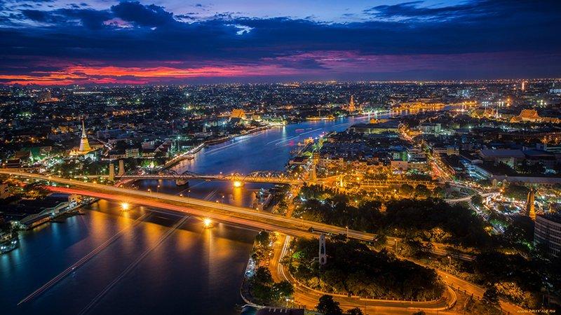 река Чаупхрая в Бангкоке