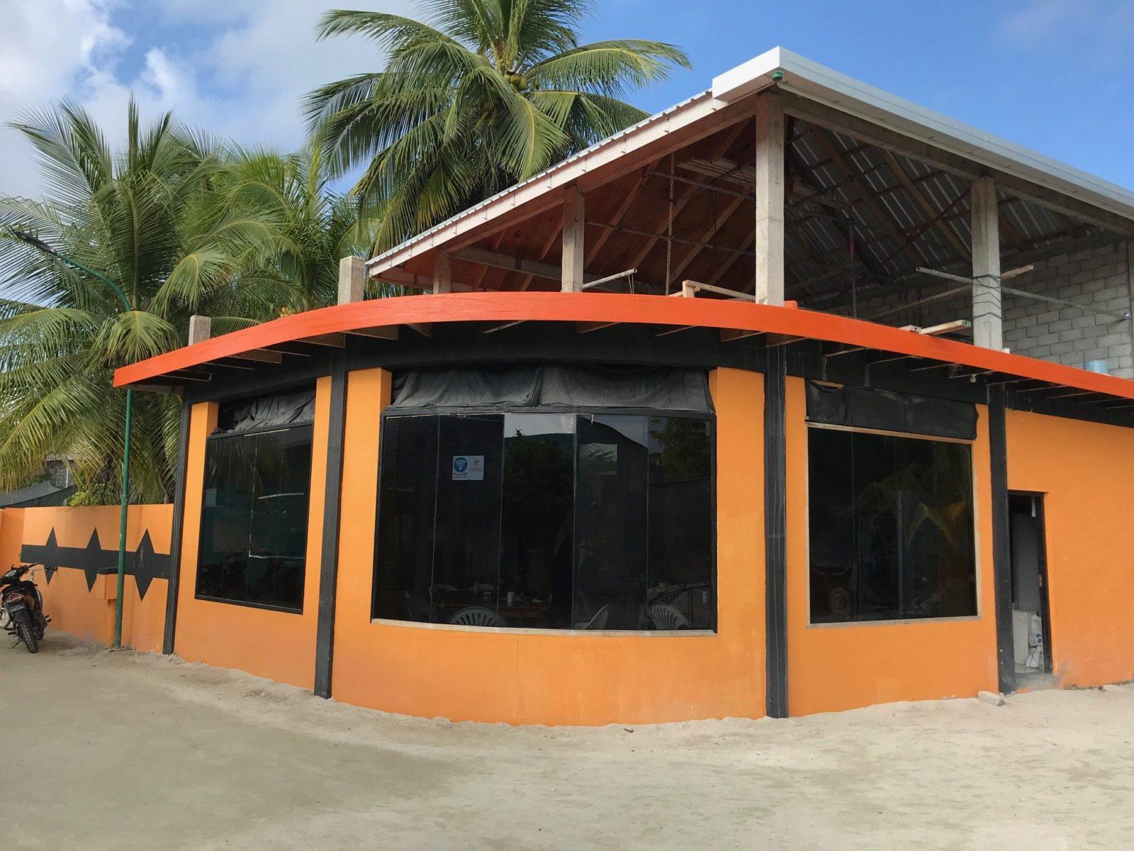 ресторан Second Home на острове Мативери, Мальдивы