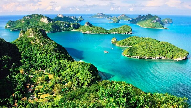 Национальный морской парк Анг Тонг на Самуи