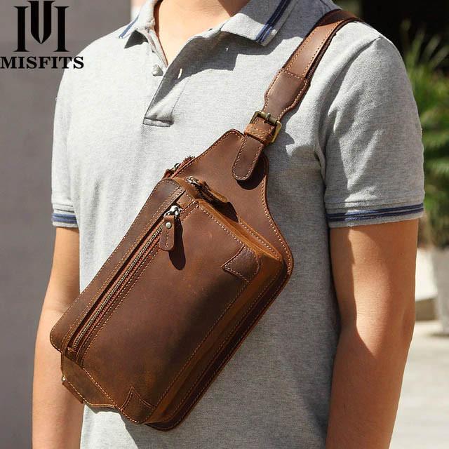 купить кожанную наплечную сумку для путешествий