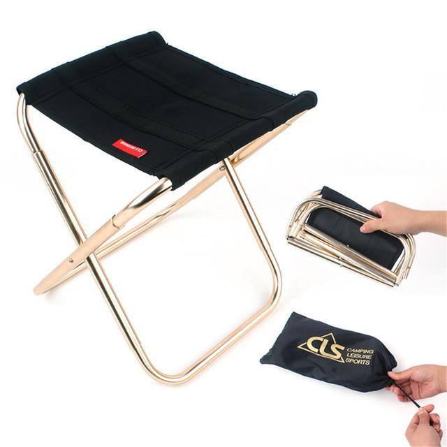 купить портативный складной стул для путешествий
