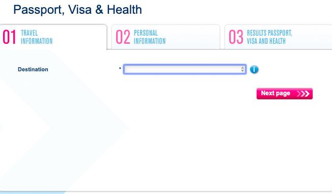 как узнать нужна ли виза с помощью timatic