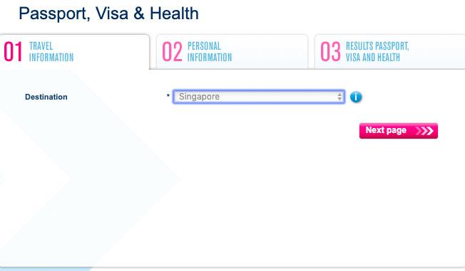 проверяем необходимость визы на сайте тиматика