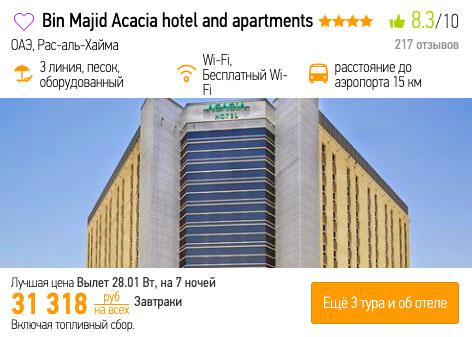 Туры в ОАЭ из Казани за 15600₽