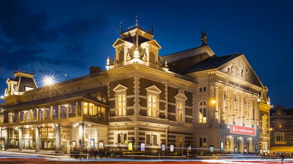 Концертный зал Консертгебау в Амстердаме