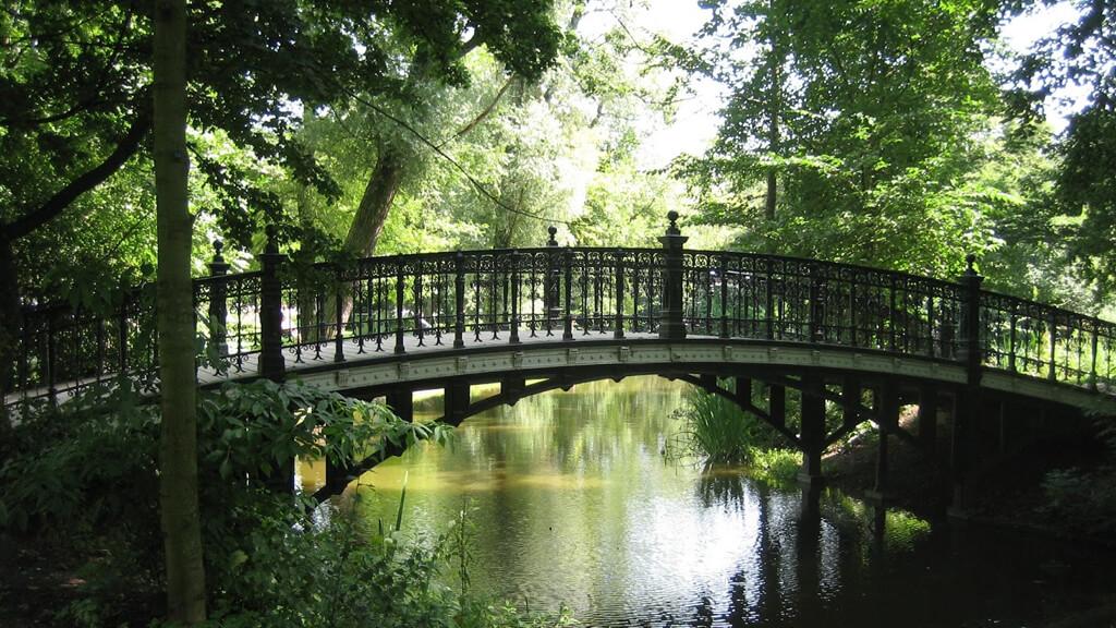 Парк Вондела в Амстердаме