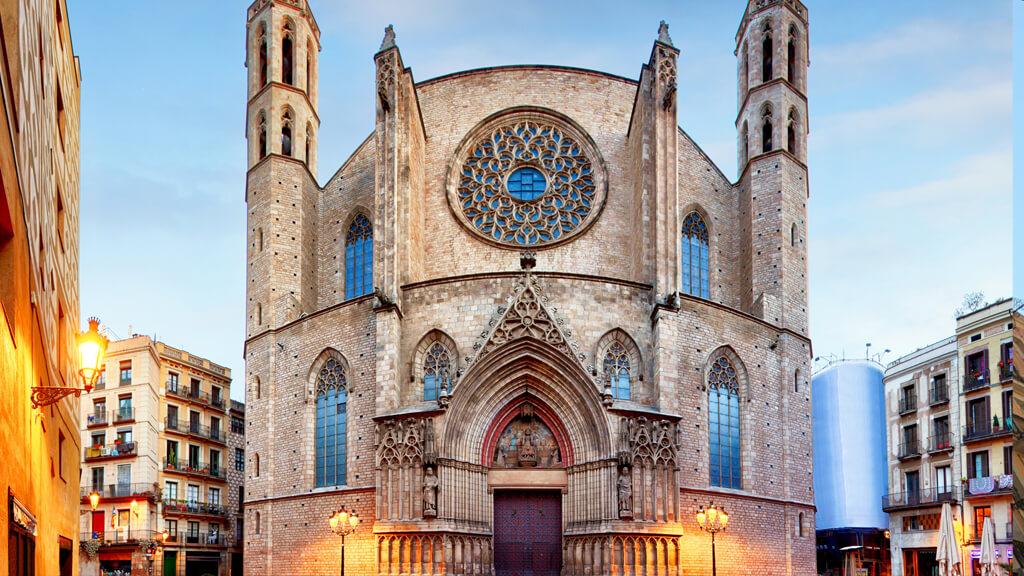 Санта-Мария-дель-Мар в Барселоне