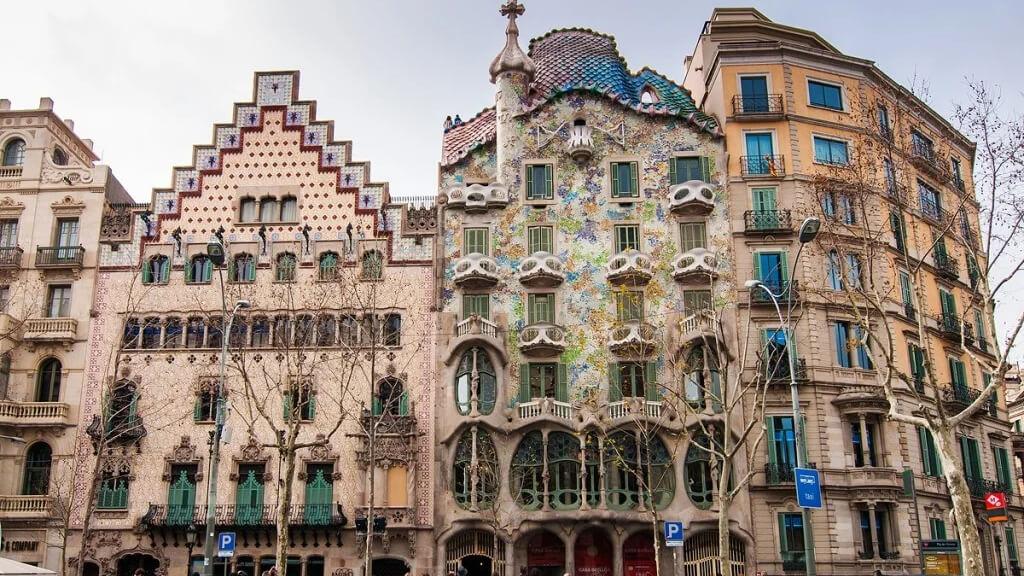 Дом Амальеа в Барселоне