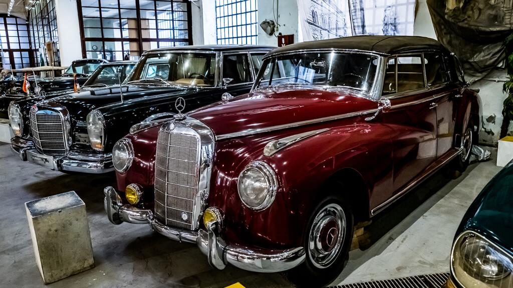 Музей автомобилей в Белграде