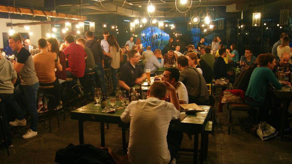 бар Samo Pivo в Белграде