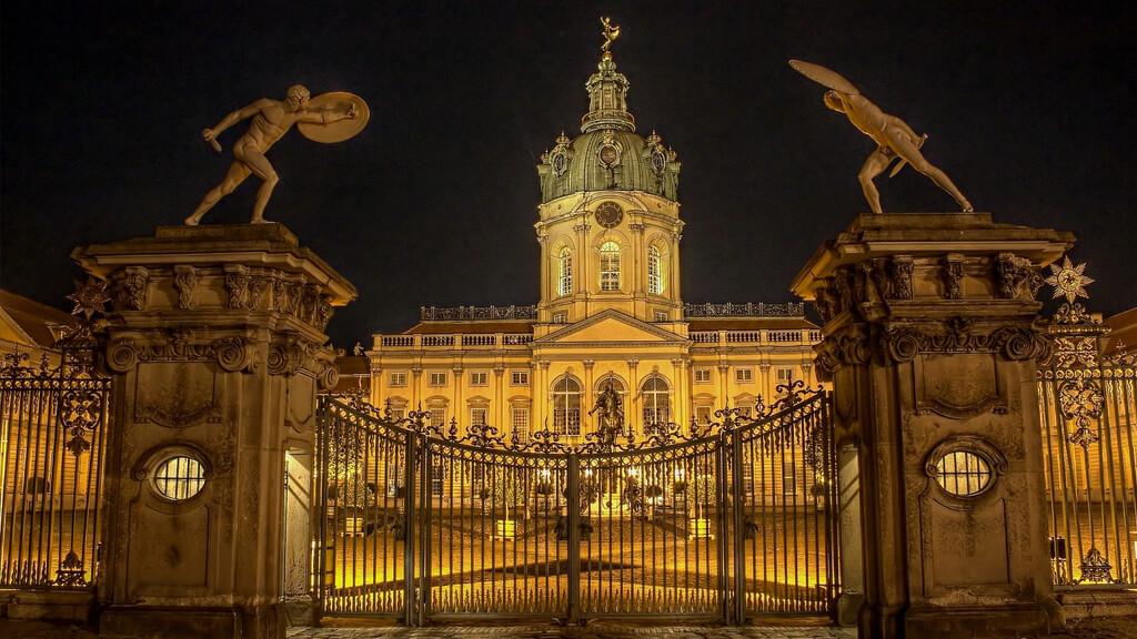 Замок Шарлоттенбург в Берлине