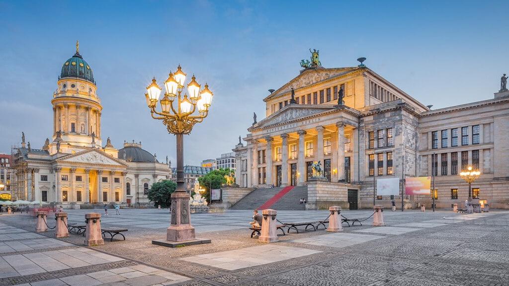 Площадь Жандарменмаркт в Берлине
