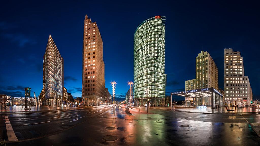 Потсдамер Платц в Берлине