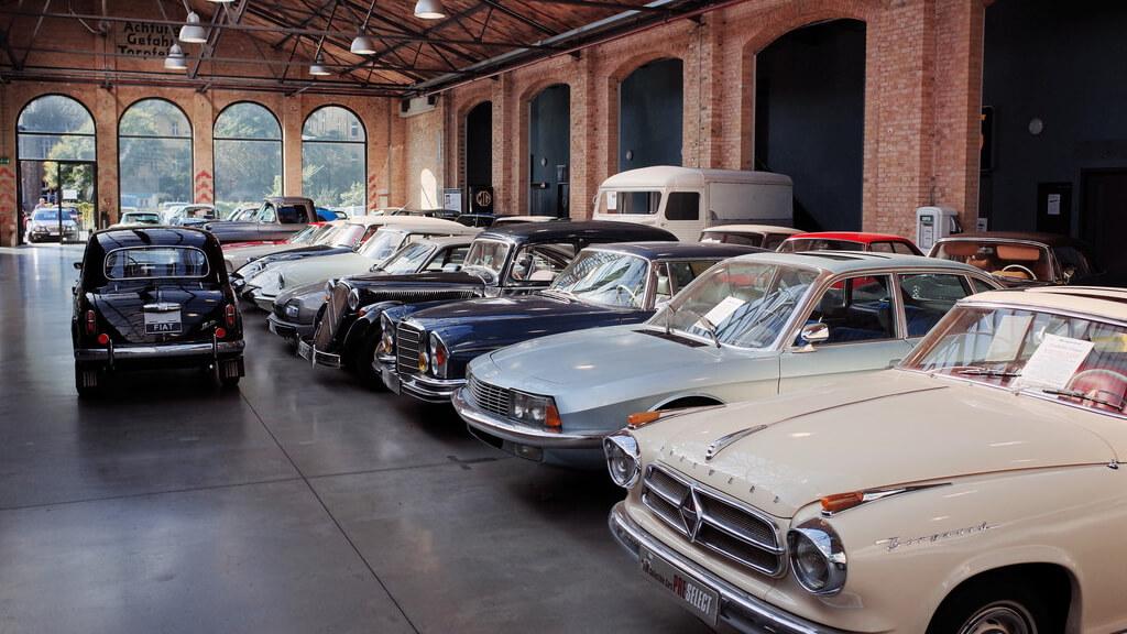 Музей ретро-автомобилей Classic Remise в Берлине