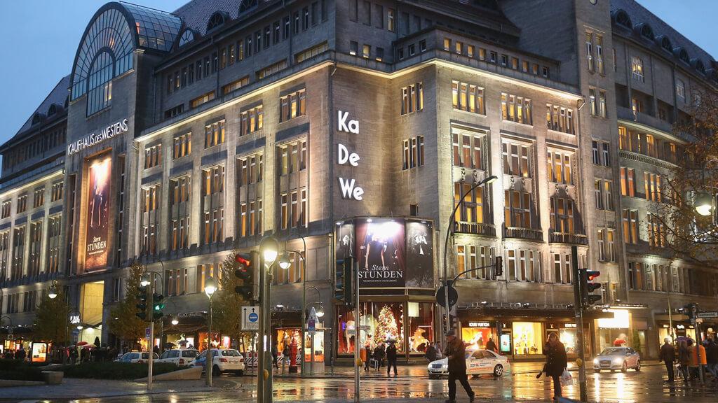 Торговый центр KaDeWe в Берлине