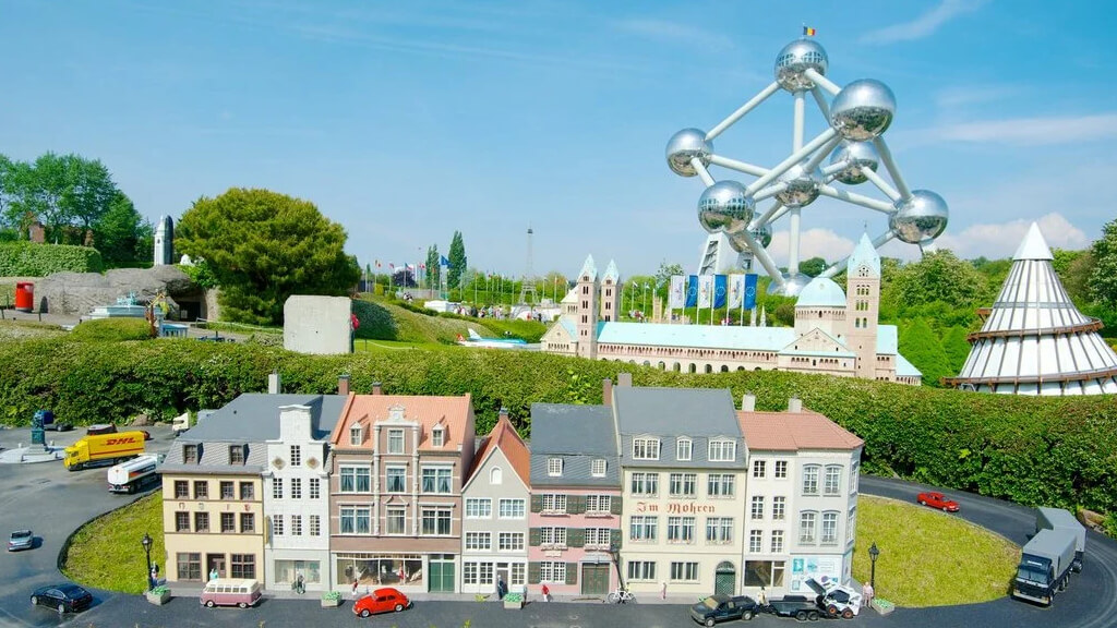 """Парк """"Мини-Европа"""" в Брюсселе"""