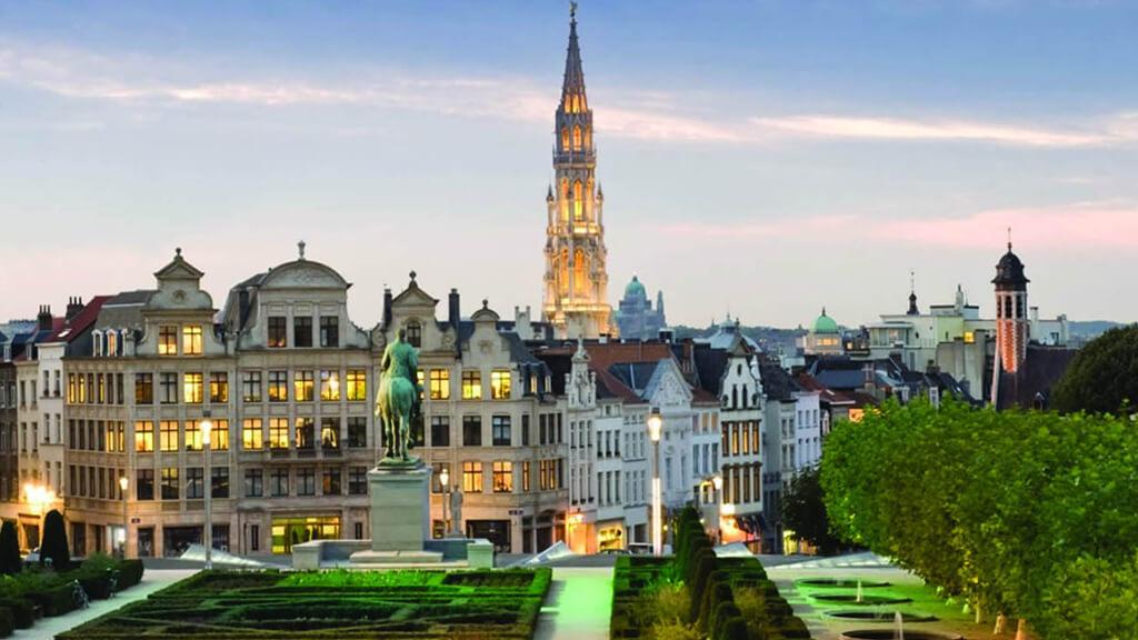 Гора искусств в Брюсселе