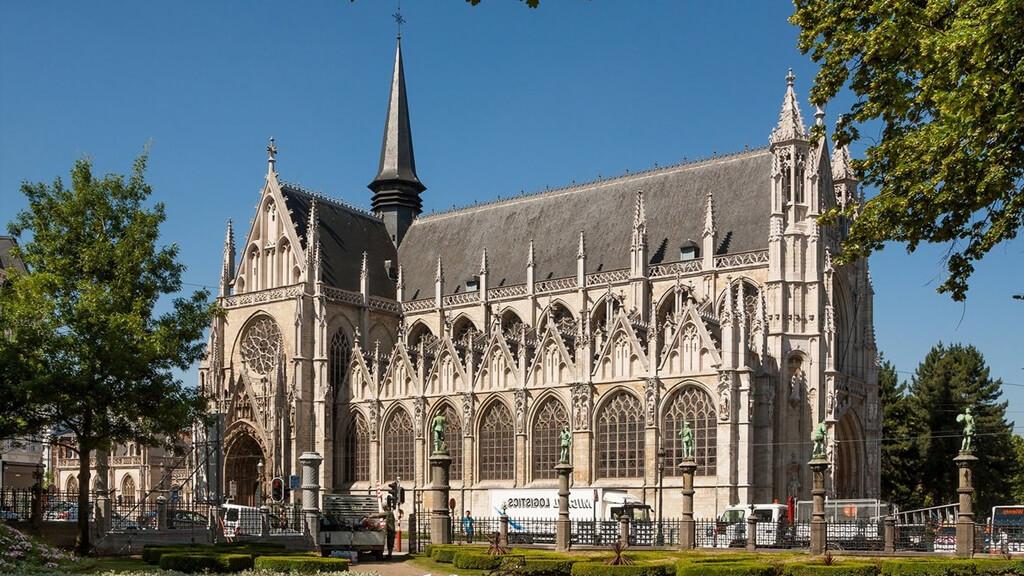Церковь Богоматери Побед в Саблоне в Брюсселе