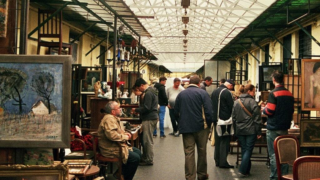"""блошиный рынок """"Эскери Пиак"""" в Будапеште"""