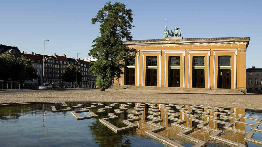 ММузей Торвальдсена в Копенгагене