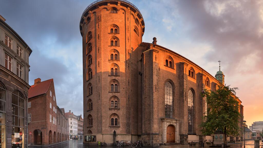 Панорамная башня в Копенгагене