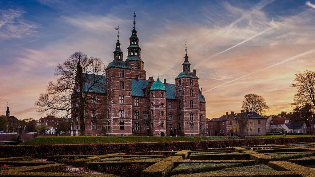 Замок Розенборг в Копенгагене