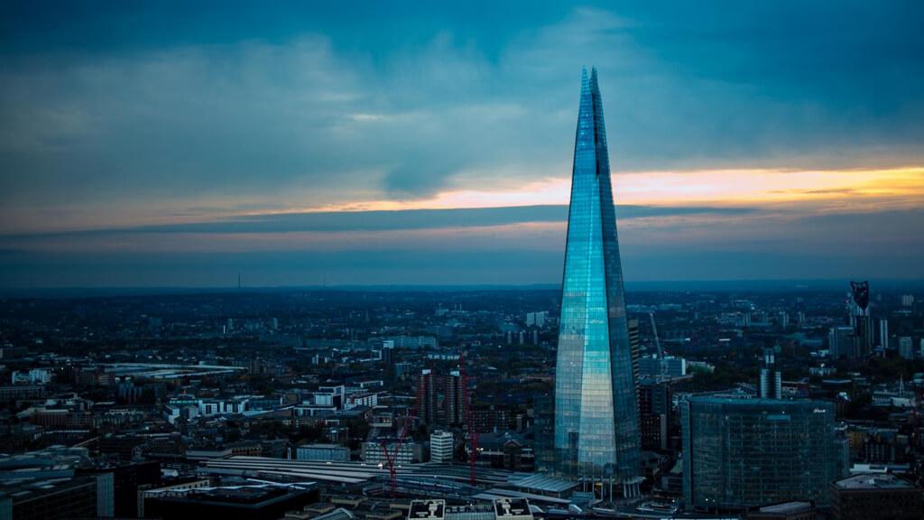 """Небоскреб """"The Shard"""" в Лондоне"""