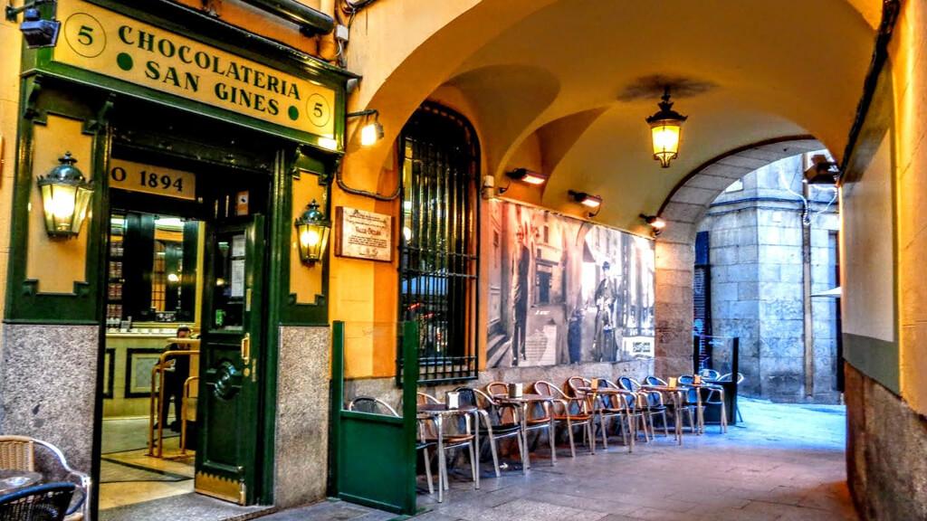 Кондитерская San Gines в Мадриде