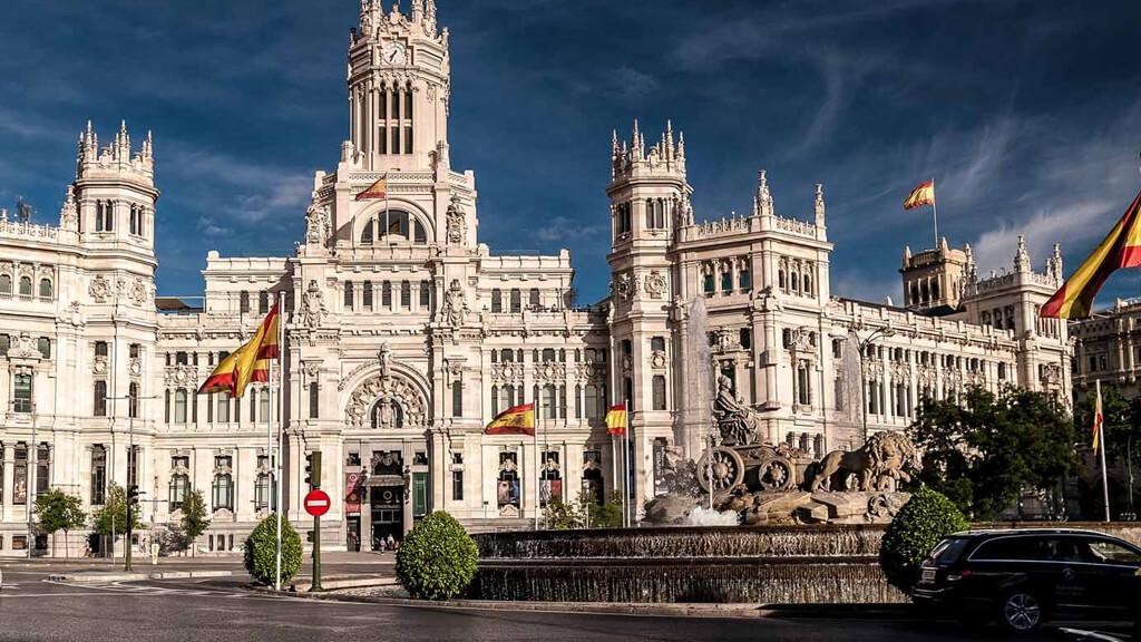 Площадь Кибелы в Мадриде