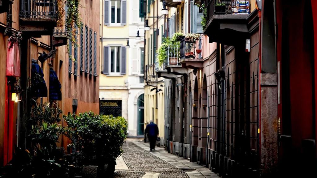 Квартал Брера в Милане