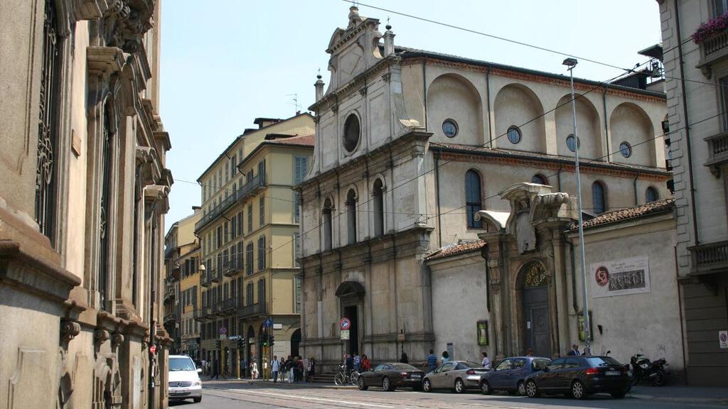 Церковь Сан-Маурицио в Милане