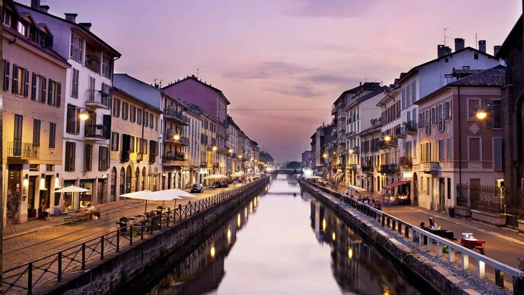 Навильо-Гранде в Милане