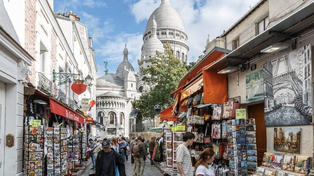 Монмартр  в Париже