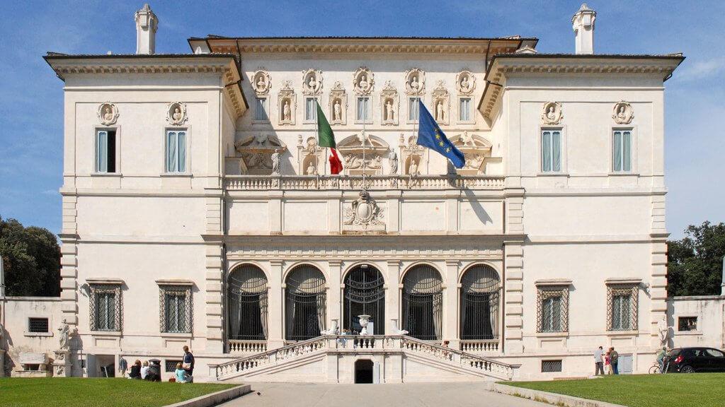 Вилла Боргезе в Риме