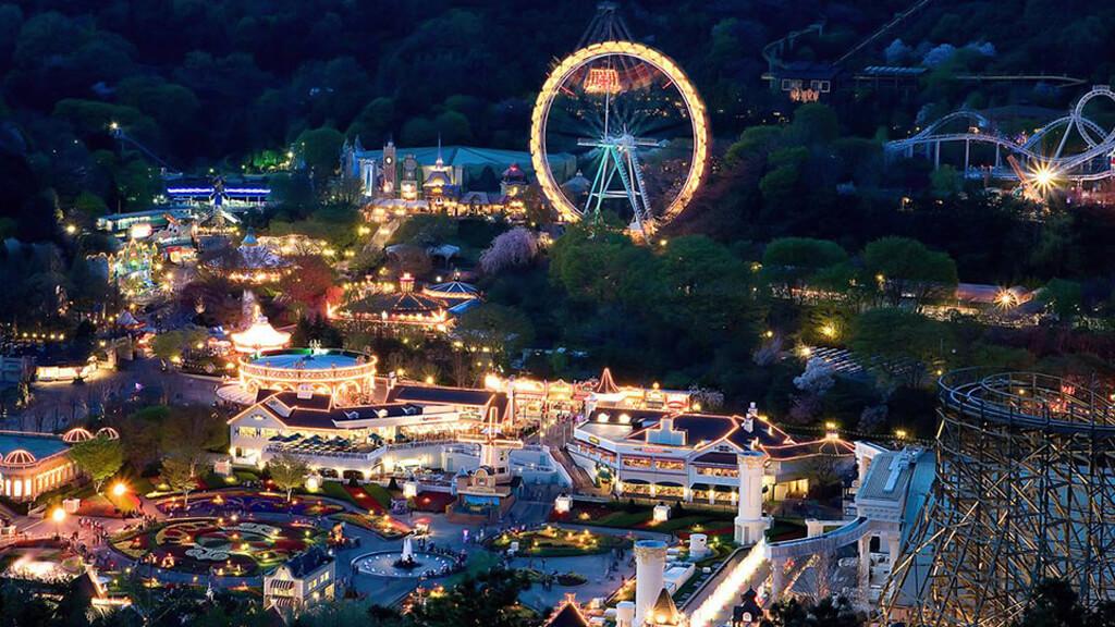 Парк развлечений Эверленд в Сеуле