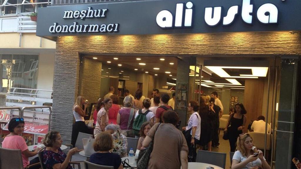 Кафе-мороженое Ali Usta в Стамбуле
