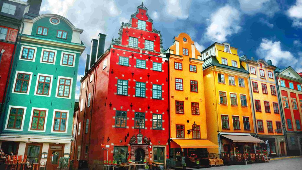 Gamla Stan в Стокгольме