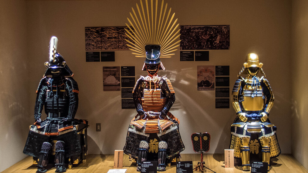 Музей самураевs в Токио