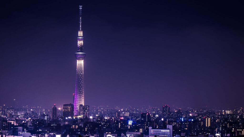 Смотровая площадка Tokyo Sky Tree